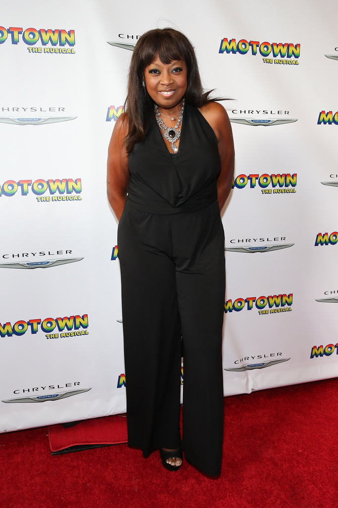 """Star Jones attends the Broadway opening night for """"Motown: The Musical"""" at Lunt-Fontanne Theatre on April 14, 2013 in New York City"""