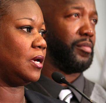 trayvon parents
