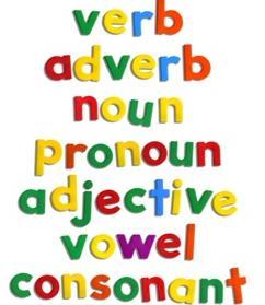 verb adverb noun