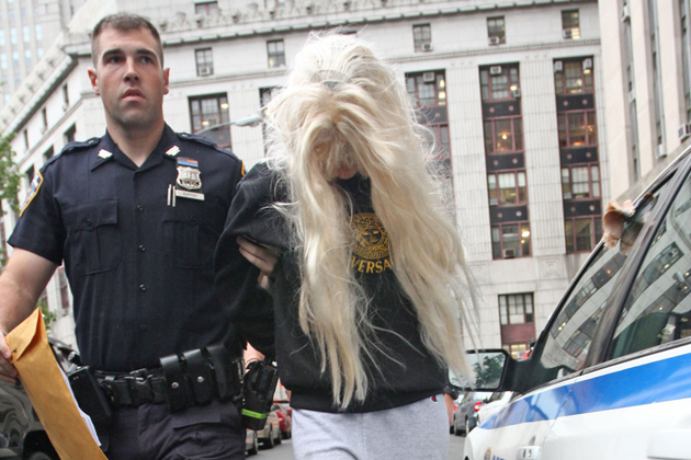 Amanda Bynes arrested in New York on May 23, 2013 after allegedly tossing a marijuana bong out of her 36th-floor Manhattan apartment window