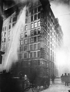 New York garment factory fire 1911