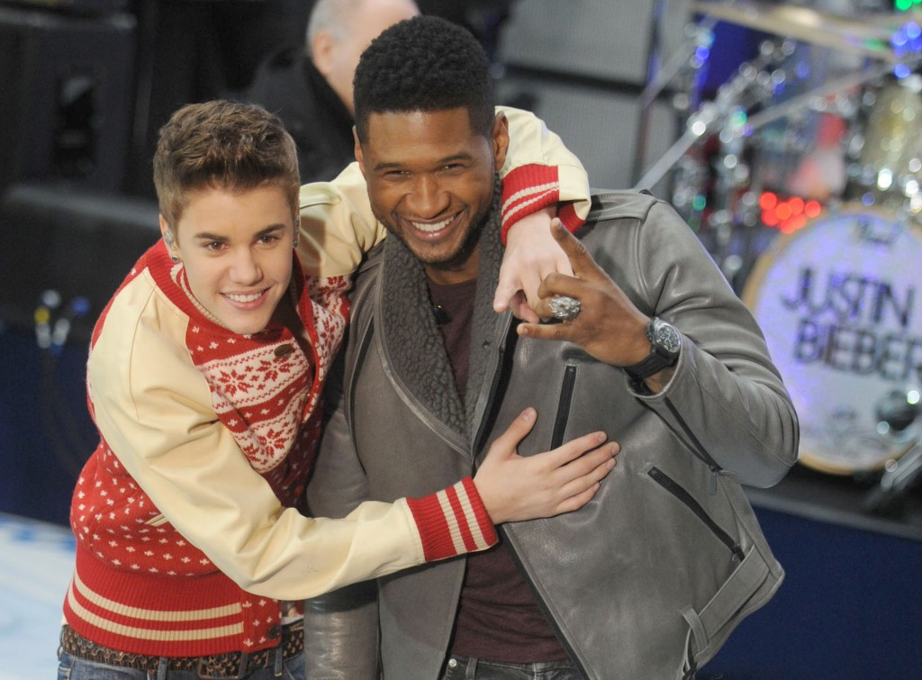 Justin Bieber Performing On The Today Show