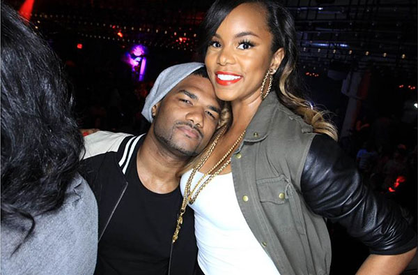 LeToya Luckett  and Damien Wayans