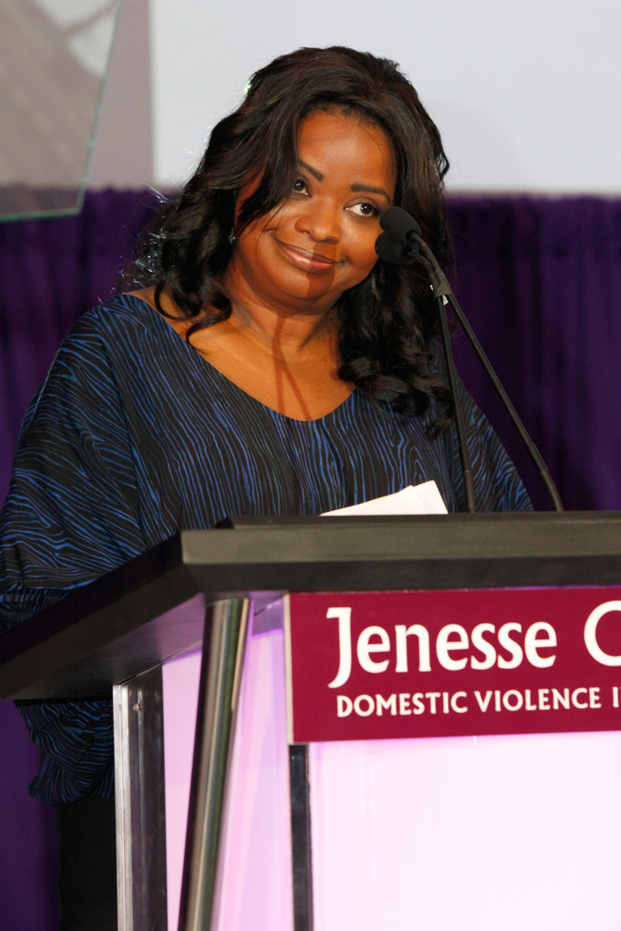 Actress Octavia Spencer speaks at GREY GOOSE Hosts Silver Rose Awards Gala at Vibiana on April 6, 2013 in Los Angeles