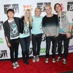 R5 on the Red Carpet at Move Your Body 2013 New York City