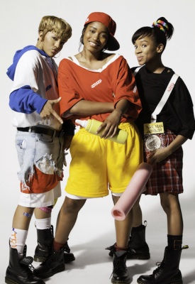 """(L-R) Drew Sidora, Keke Palmer and Lil Mama in VH1's """"Crazy Sexy Cool: The TLC Story"""""""