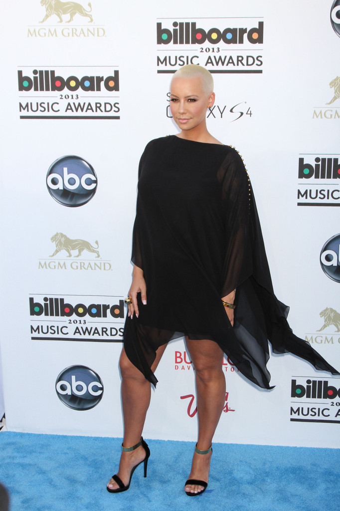 Amber Rose at the 2013 Billboard Music Awards at MGM Grand Garden Arena in Las Vegas. (May 19, 2013
