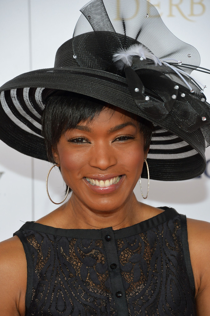 Actress Angela Bassett celebrates the 139th Kentucky Derby with Moet & Chandon at Churchill Downs on May 4, 2013 in Louisville, Kentucky