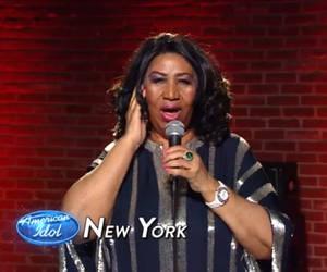 aretha franklin idol finale