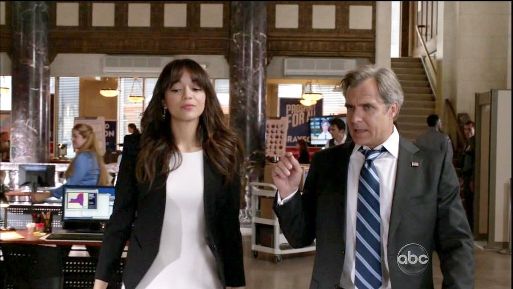 """Ashley Madekwe In Part 1 of the two-part second-season finale of """"Revenge.""""  (May 12, 2013)"""