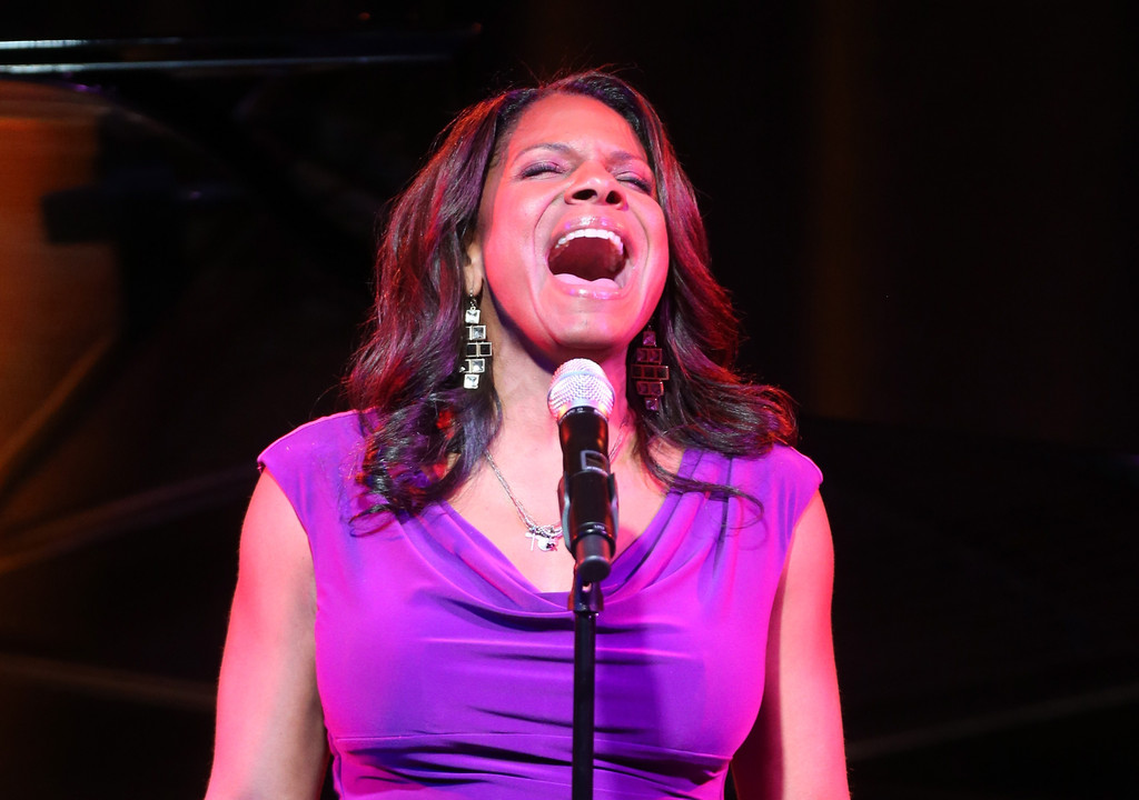Five-Time Tony winner Audra McDonald peforms onstage for the 'LIVE From Lincoln Center' performance during the PBS portion of the 2013 Winter Television Critics Association Press Tour at the Langham Huntington Hotel & Spa on January 14, 2013 in Pasadena, California