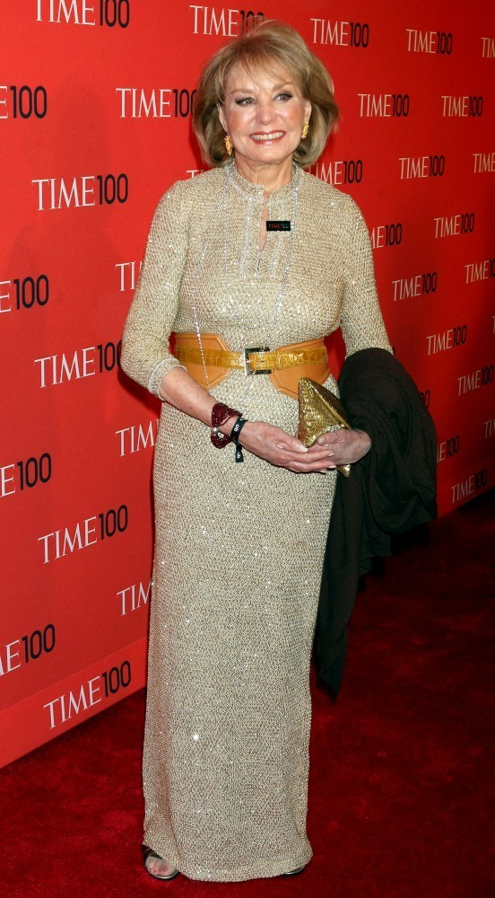 Barbara Walters attends the 2013 TIME 100 Gala in New York City. (April 23, 2013)