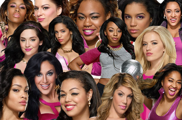 "Cast of Oxygen's ""Bad Girls All Star Battle"""
