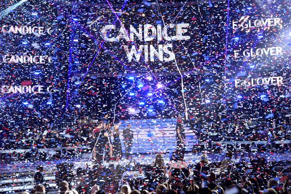 candice wins