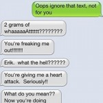 Comedian Has Twitter Followers Prank Parents with 'Two Grams for $40′ Text