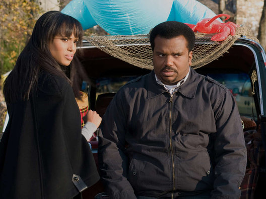 kerry washington & craig robinson (peeples)