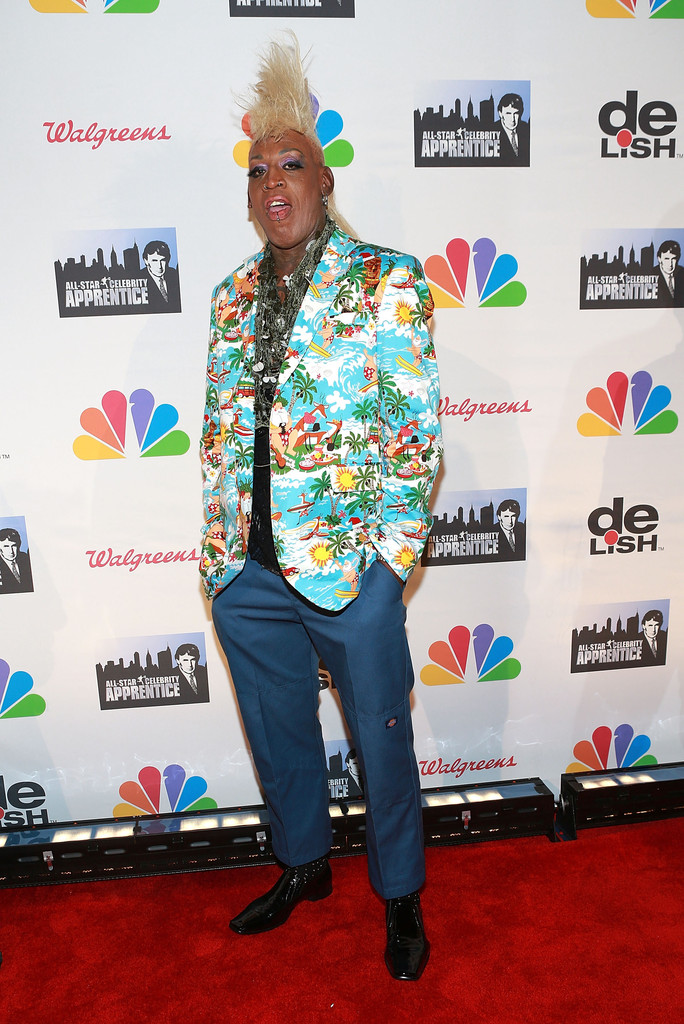"Dennis Rodman attends ""All Star Celebrity Apprentice"" Finale at Cipriani 42nd Street on May 19, 2013 in New York City"