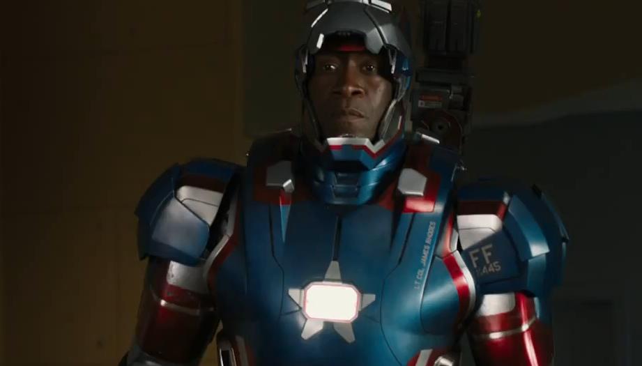 "Don Cheadle in ""Iron Man 3"""
