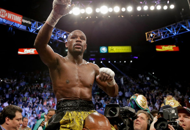 floyd mayweather (after guerrero fight)