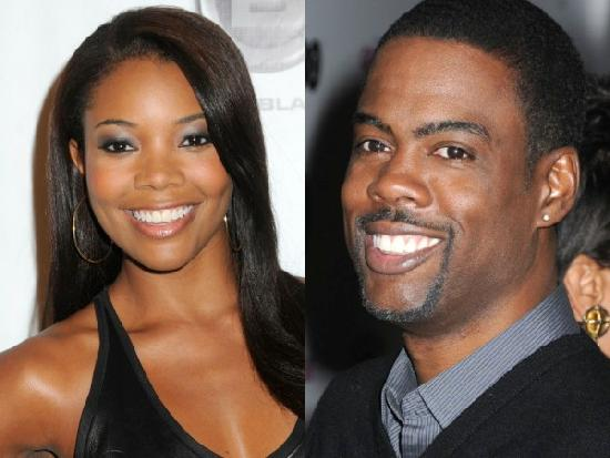 gabrielle union & chris rock