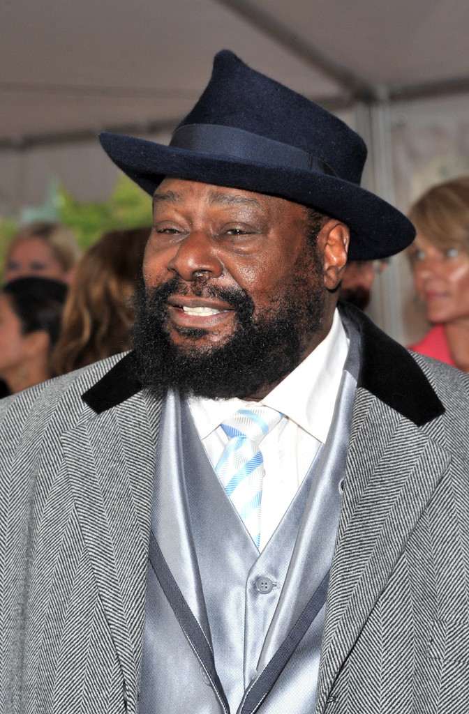 George Clinton attends the 27th Annual Rock And Roll Hall Of Fame Induction Ceremony at Public Hall on April 14, 2012 in Cleveland