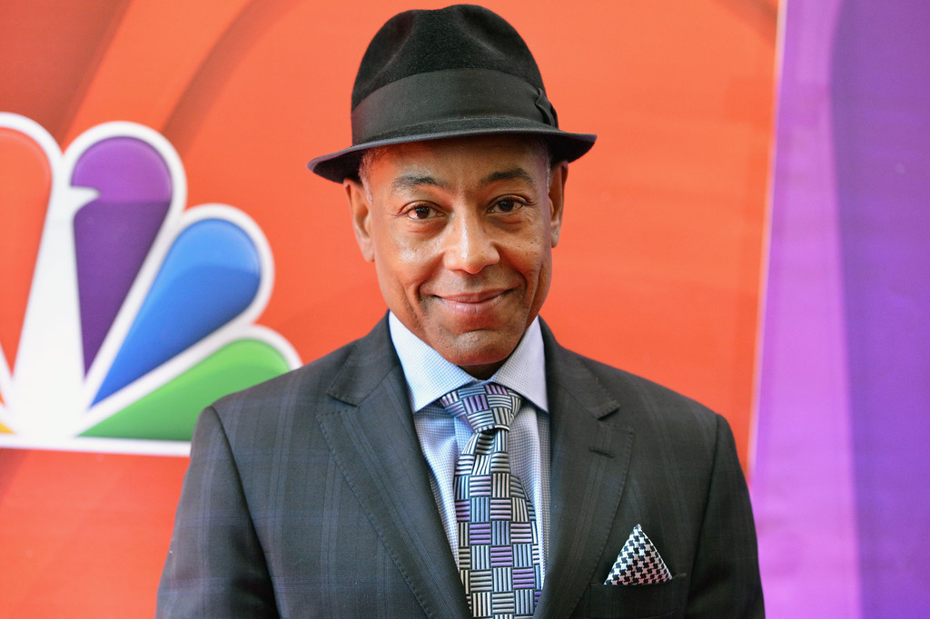 Actor Giancarlo Esposito attends 2013 NBC Upfront Presentation Red Carpet Event at Radio City Music Hall on May 13, 2013 in New York City