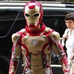 Jaden Smith Hits Streets of NY as Iron Man (Pics)
