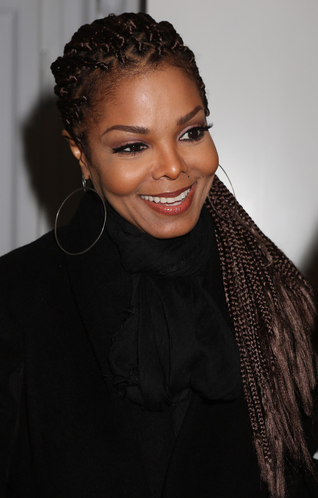 Janet Jackson attends the Vicini Presentation during Milan Fashion Week Womenswear Fall/Winter 2013/14 on February 23, 2013 in Milan