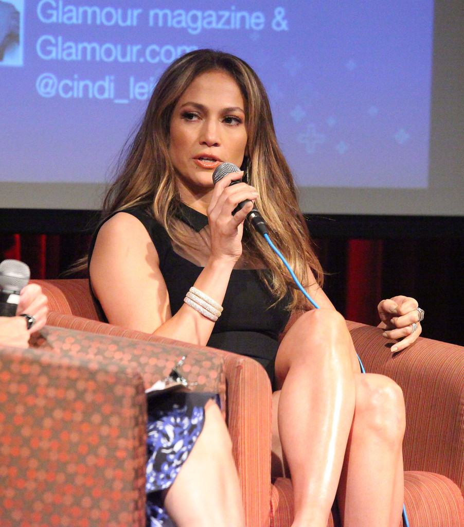"Jennifer Lopez attends United Nations Foundation ""Mom + Social"" Event at 92Y Tribeca on May 8, 2013 in New York City"