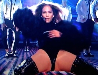 jlo (jennifer lopez) britain's got talent