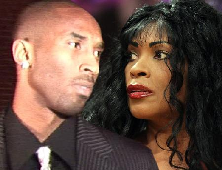 kobe bryant & mother
