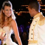 Nick, Mariah, Dem Babies Shut Down Disneyland to Renew Vows