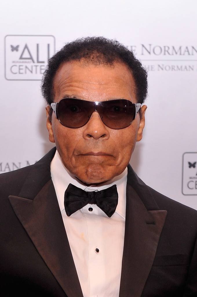 Muhammad Ali attends the Norman Mailer Center 4th Annual Benefit Gala on October 4, 2012 in New York City