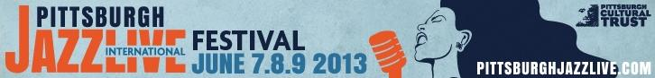 pittsburgh jazz festival banner