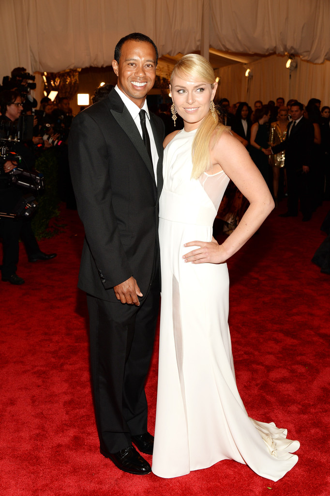 Tiger Woods and Lindsay Vonn