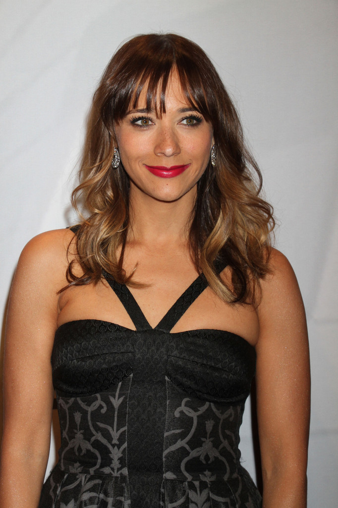 Rashida Jones attends the 17th annual Keep Memory Alive 'Power of Love Gala' benefit for the Cleveland Clinic Lou Ruvo Center for Brain Health celebrating the 80th birthdays of Quincy Jones and Sir Michael Caine at the MGM Grand Hotel and Casino in Las Vegas. (April 13, 2013)