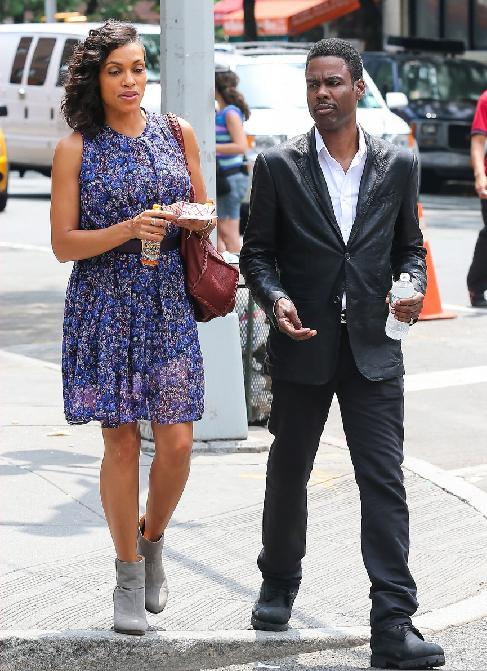 rosario dawson & chris rock
