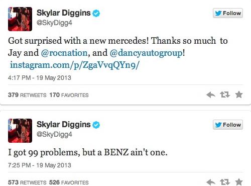skylar tweets