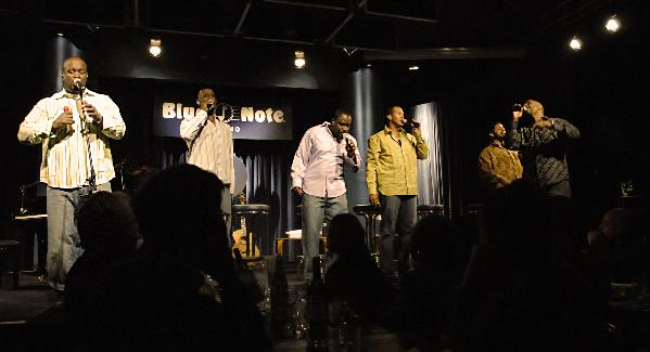 take 6 (at blue note)