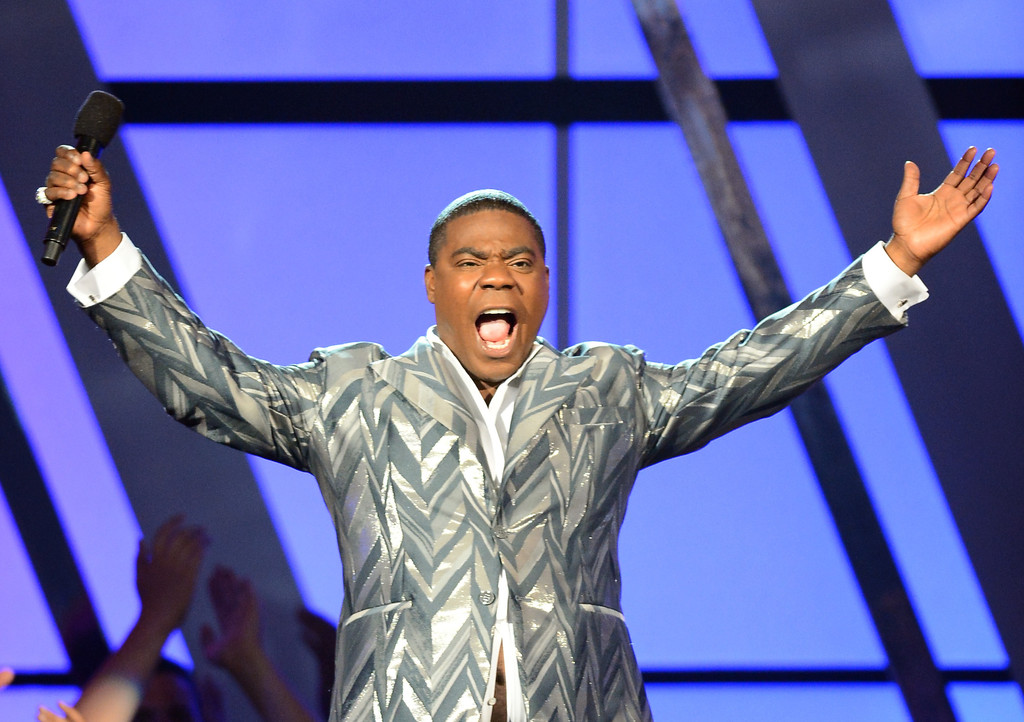 Host Tracy Morgan speaks onstage onstage during the 2013 Billboard Music Awards at the MGM Grand Garden Arena on May 19, 2013 in Las Vegas