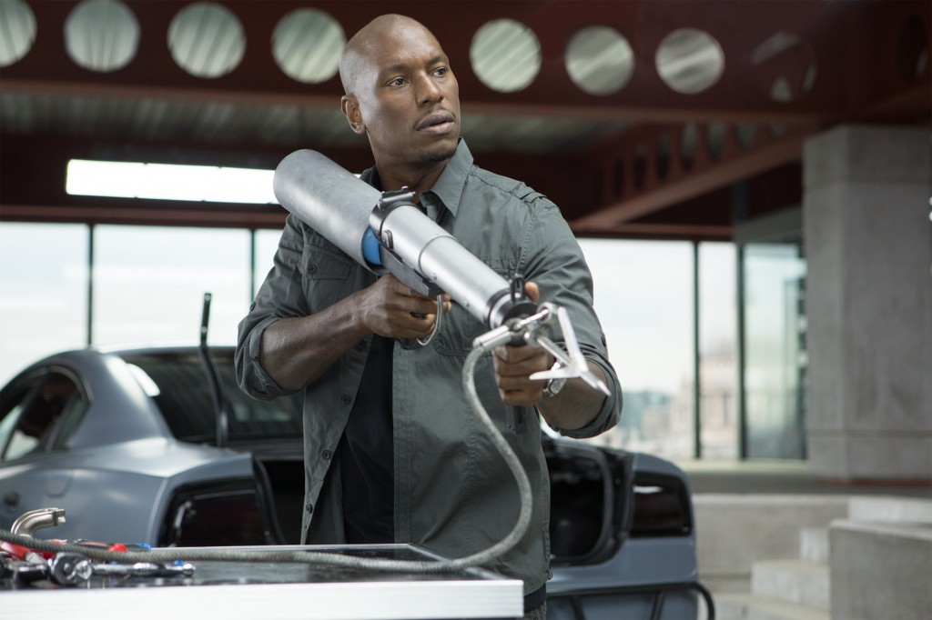 """Tyrese Gibson in a scene from """"Fast & Furious 6"""""""