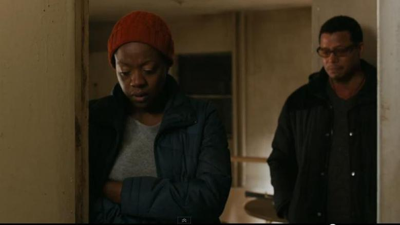 "Viola Davis and Terrence Howard in a scene from ""Prisoners"""