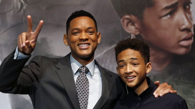 will smith & jaden smith