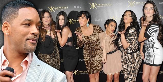 will smith & kardashians