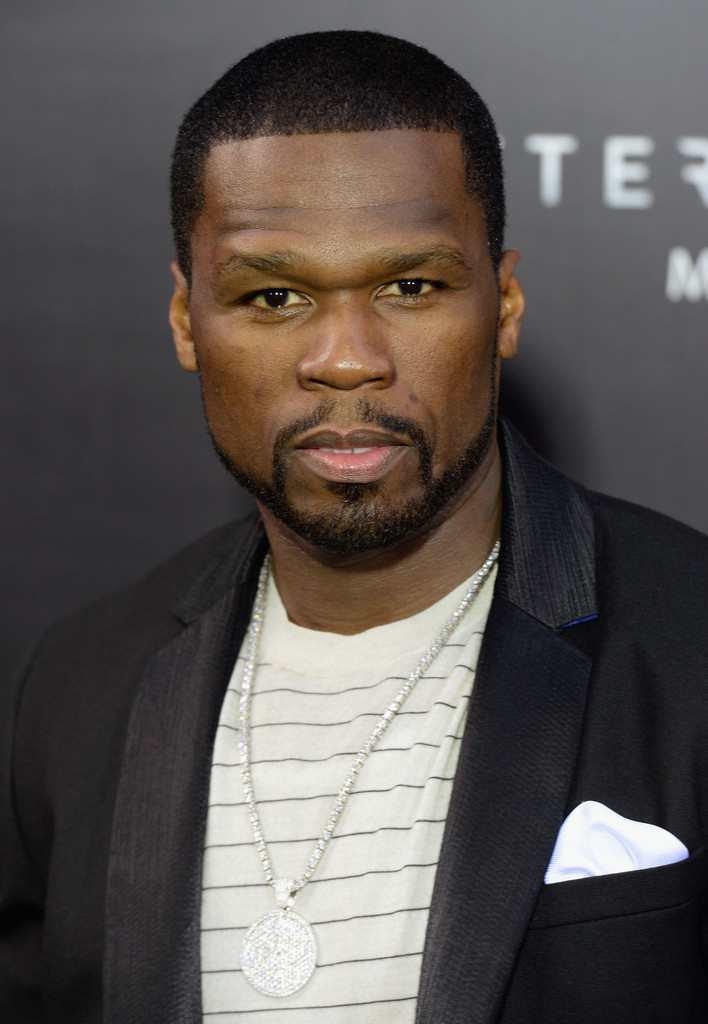 "50 Cent attends the ""After Earth"" premiere at Ziegfeld Theater on May 29, 2013 in New York City"
