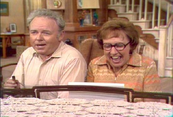 archie & edith bunker