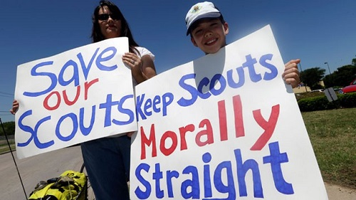 baptists separate from boy scouts