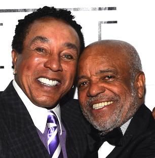 Smokey Robinson and Berry Gordy, Jr.