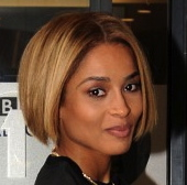 Singer Ciara is 28 today