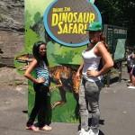 Monday Snaps: Evelyn Lozada Visits Bronx Zoo